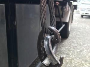 ワイヤーロープの修理