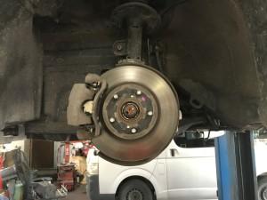 ブレーキ異音修理1