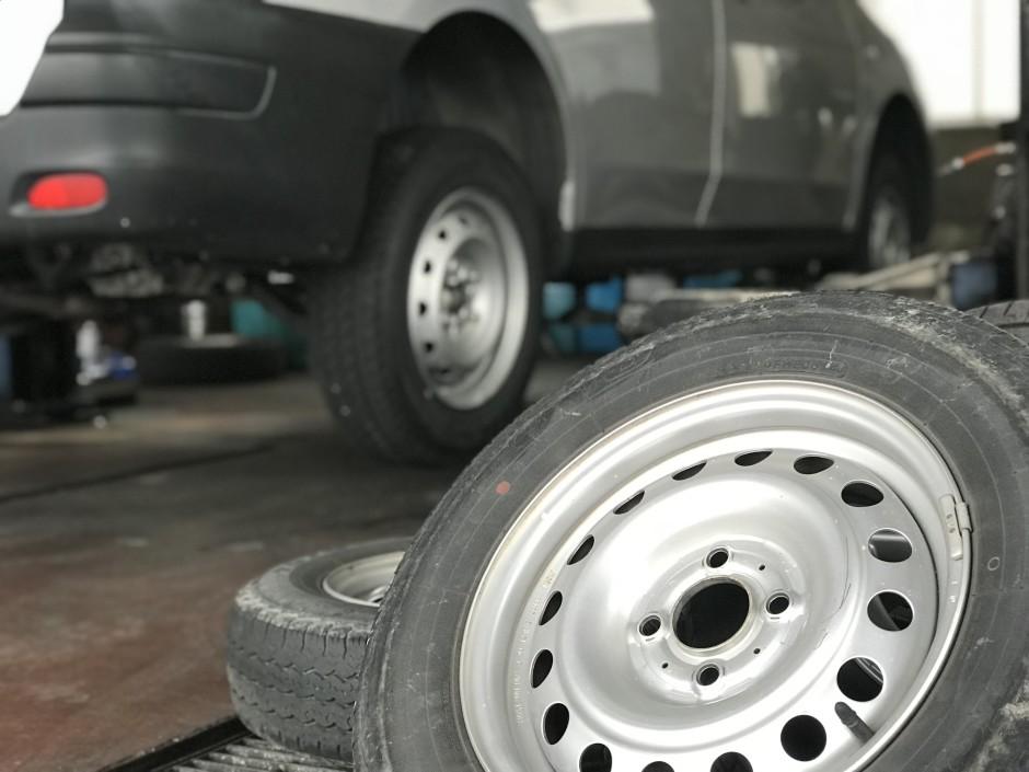 タイヤ保管
