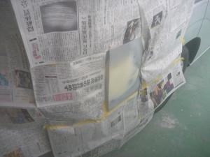 クォーターパネル修理