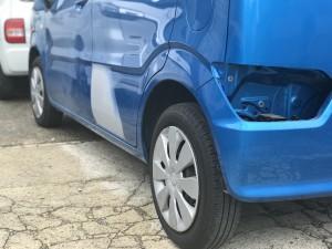 自動車のキズやヘコミの修理