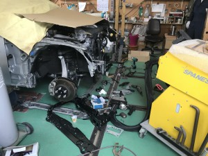フロント事故修理