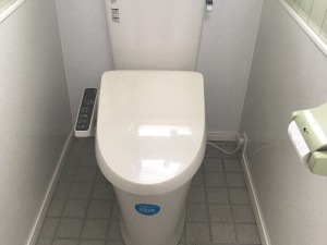 洋式トイレになりました